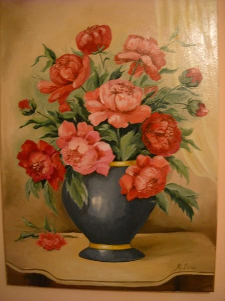 Picturi cu flori Bujori 10