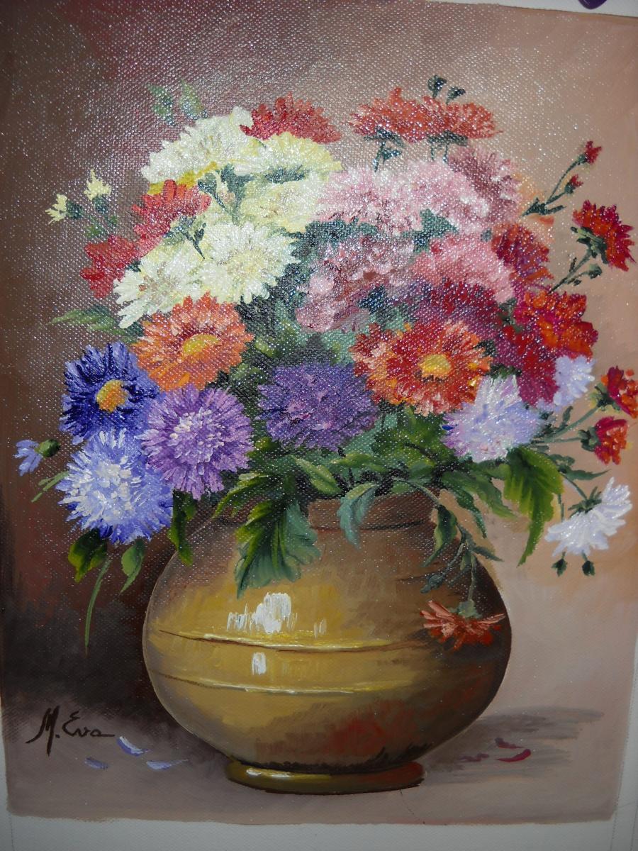 Picturi cu flori Culori diverse D 5