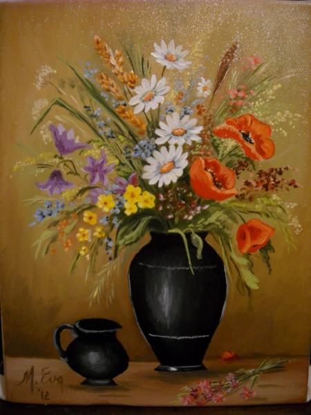 Picturi cu flori Flori de camp 2