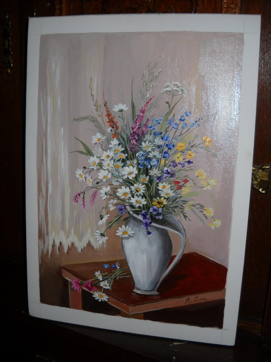 Picturi cu flori flori de camp 30