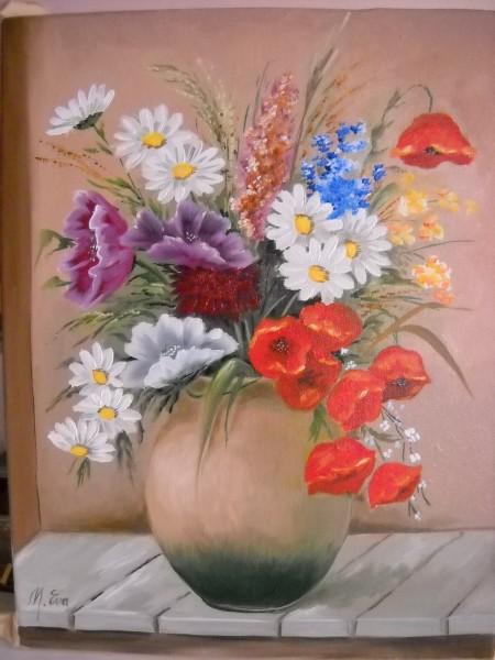 Picturi cu flori Flori de camp 5