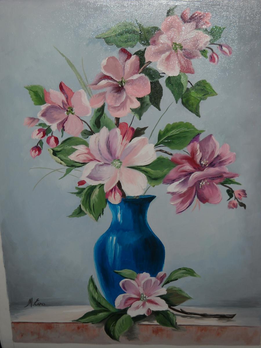 Picturi cu flori Flori din copac