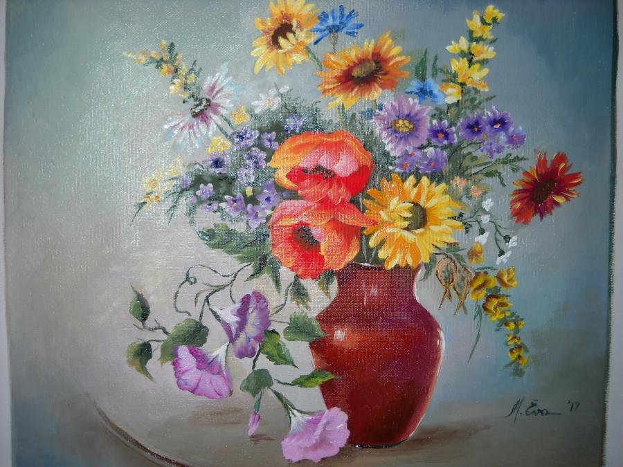Picturi cu flori flori F 45