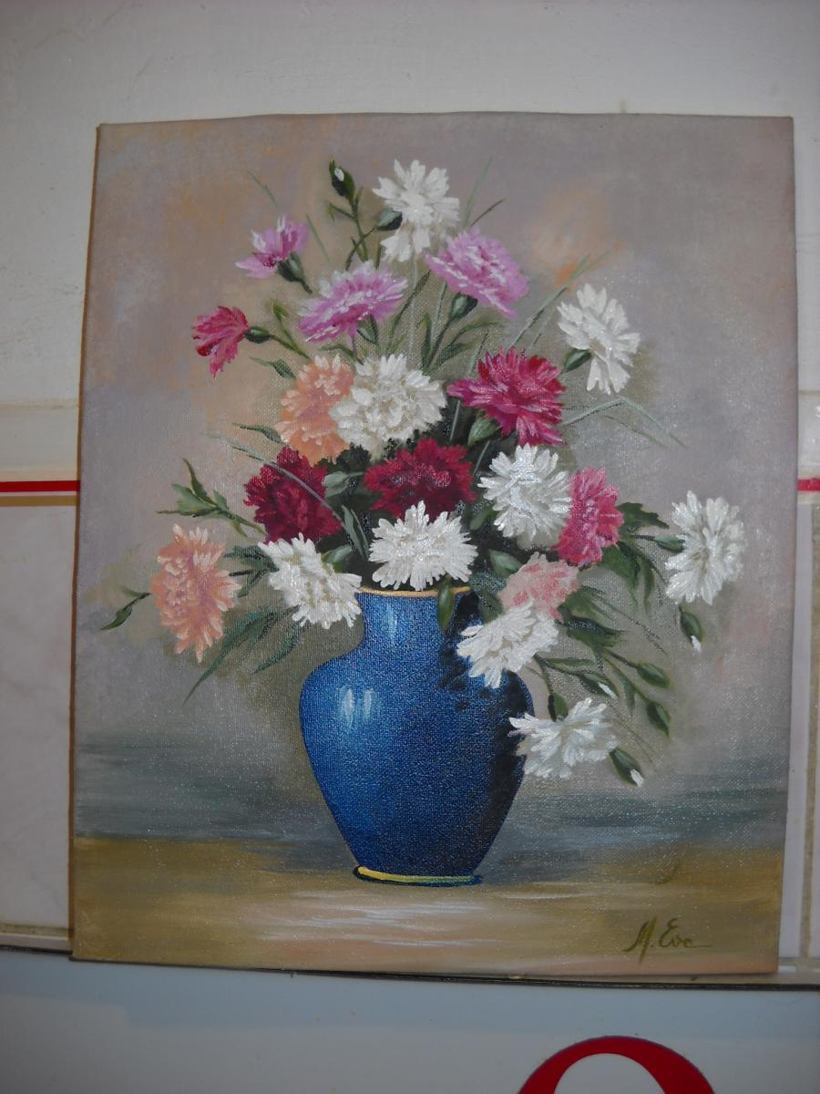 Picturi cu flori garoafe 8