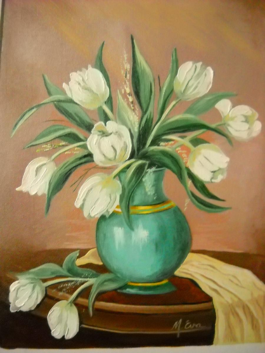 Picturi cu flori lalele  5