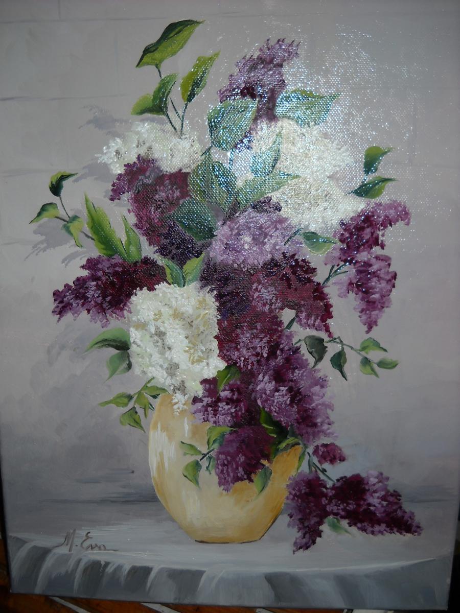 Picturi cu flori Orgonak