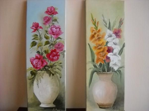 Picturi cu flori Pereche