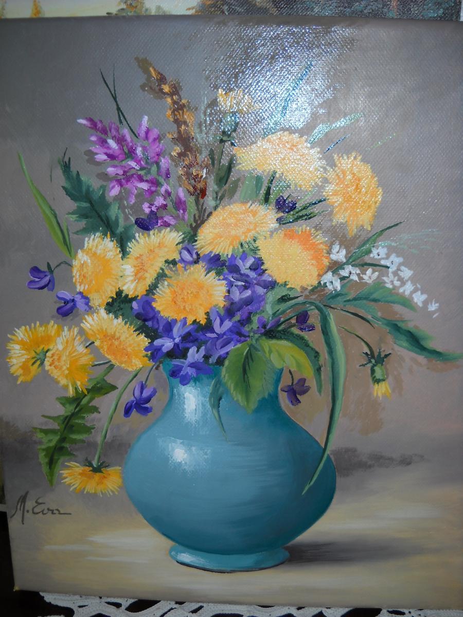 Picturi cu flori Primavara P 10