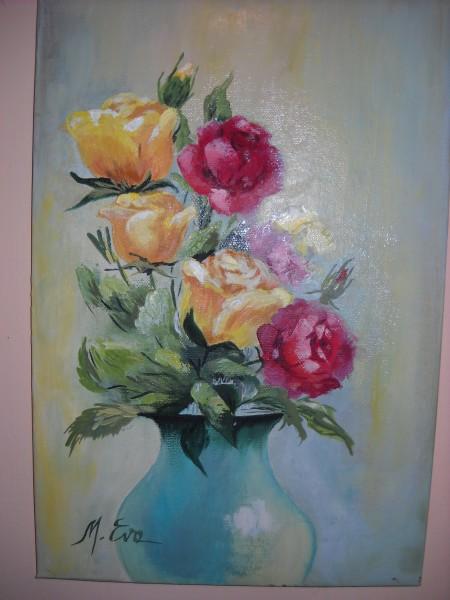 Picturi cu flori Trandafiri 20