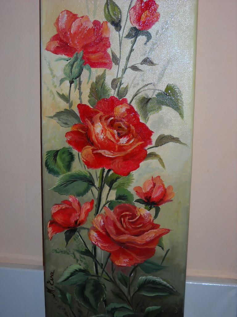 Picturi cu flori trandafiri parasiti