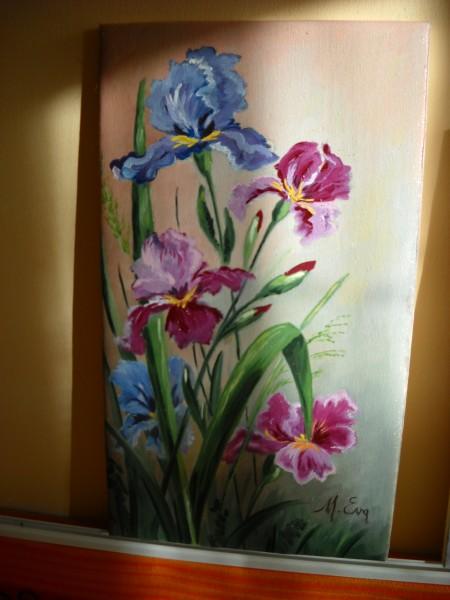Picturi cu flori Ulei pe panza