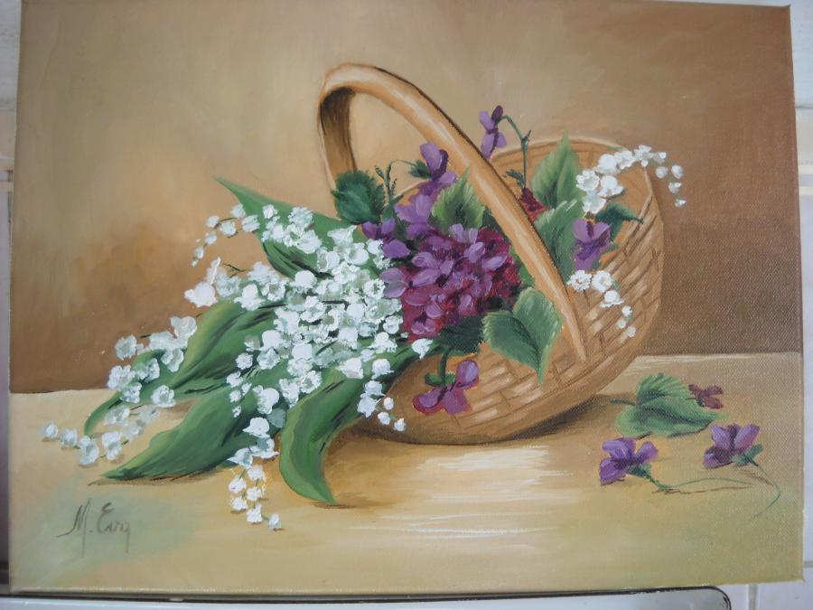 Picturi cu flori vestitori de primavara