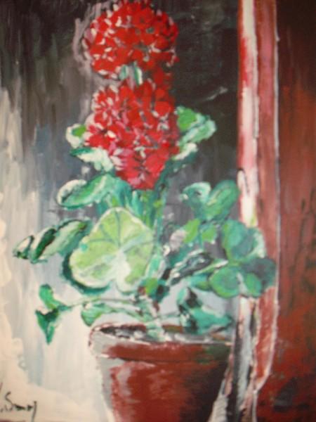 Picturi cu flori Muscata
