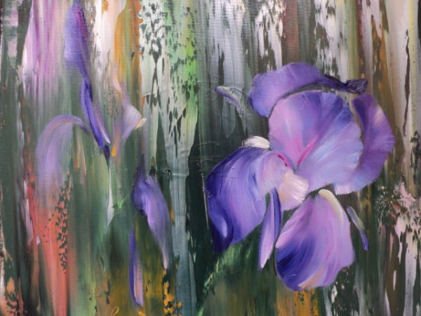 Picturi cu flori Iris v