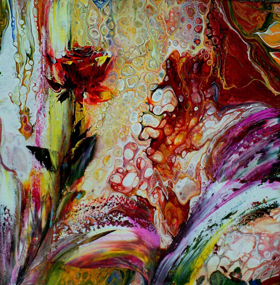 Picturi cu flori MIRACOL  FLORAL