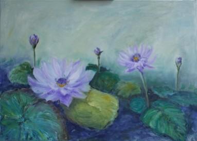 Picturi cu flori Nuferi