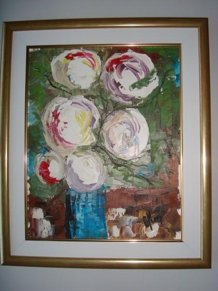 Picturi cu flori Flori abstracte 3