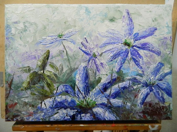 Picturi cu flori  primavara stelara