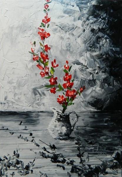 Picturi cu flori Speranta