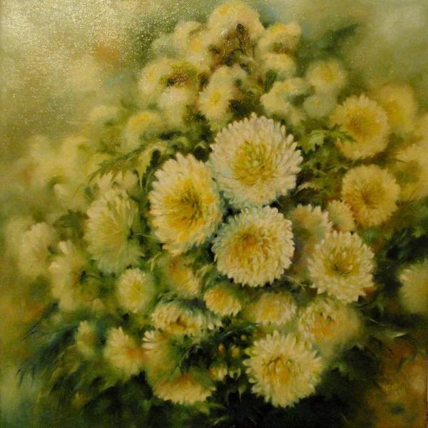Picturi cu flori Autumn yellow