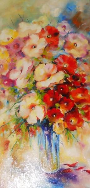 Picturi cu flori Floral4