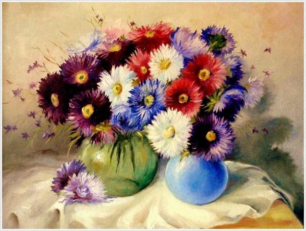 Picturi cu flori Floral 1
