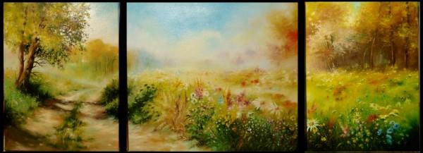 Picturi cu flori Flori de cimp -2