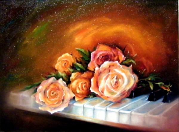 Picturi cu flori Parfume