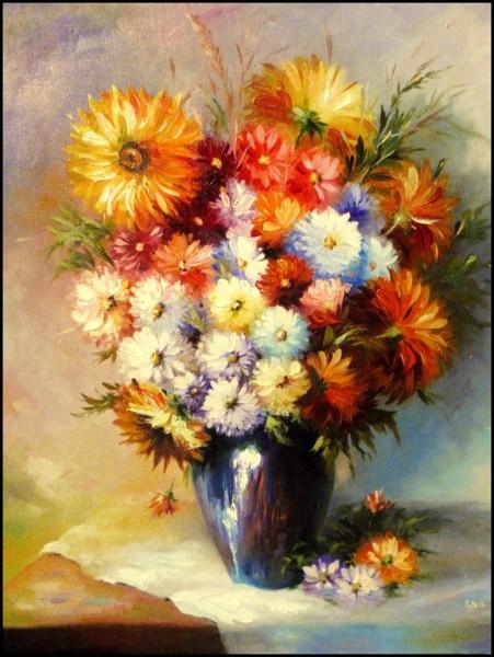Picturi cu flori Summer flowers