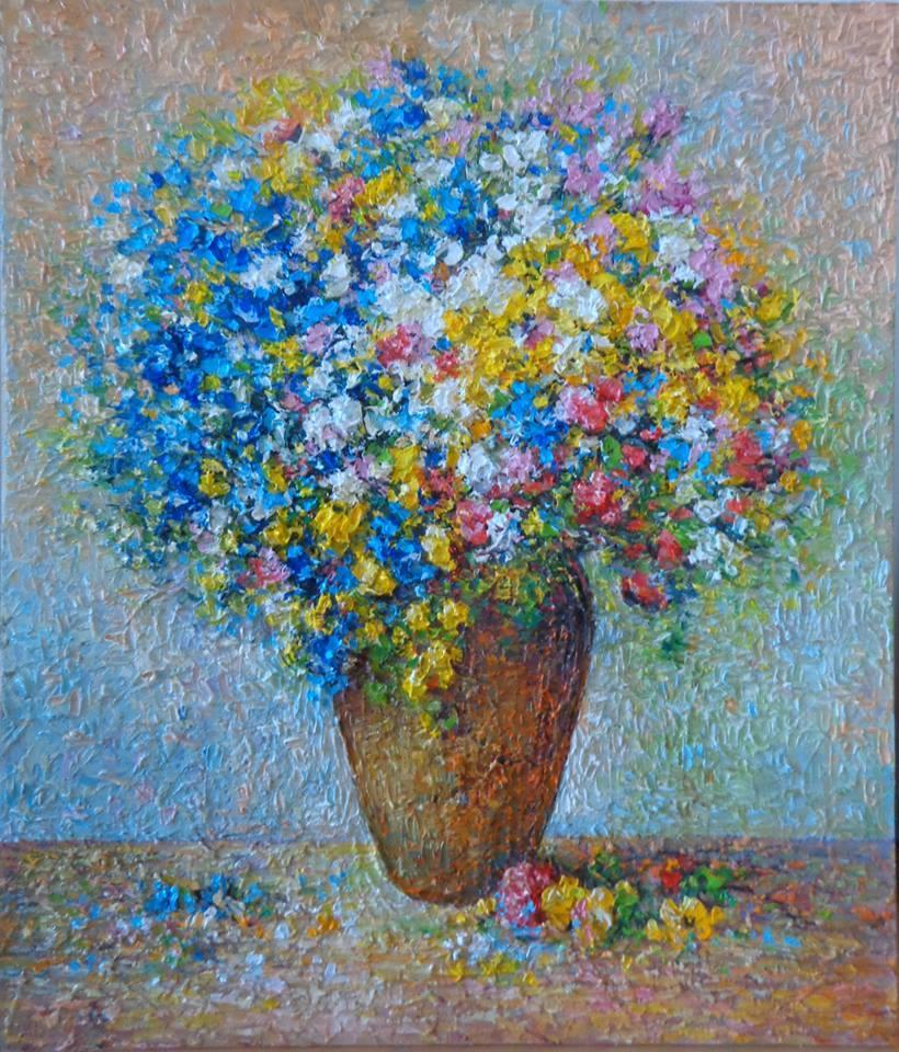 Picturi cu flori tbl. 02