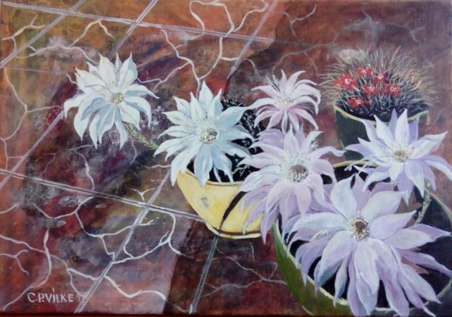 Picturi cu flori Miresme suave
