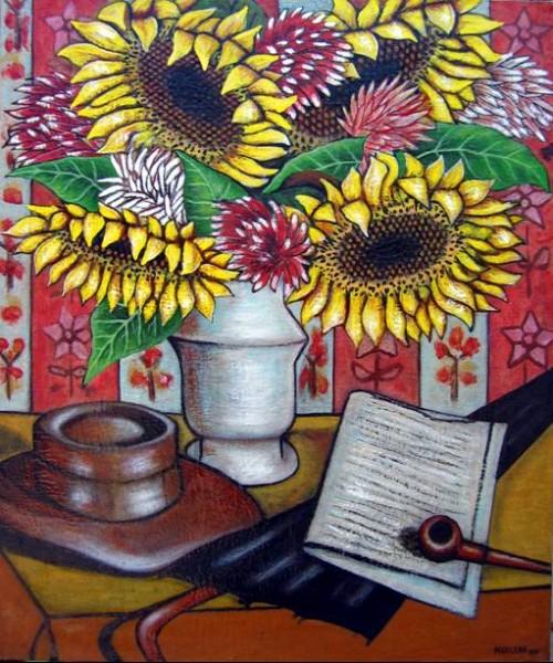 Picturi cu flori Sun flowers