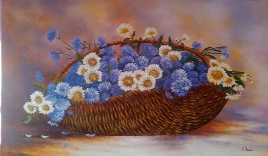 Picturi cu flori Flori nemuritoare 1