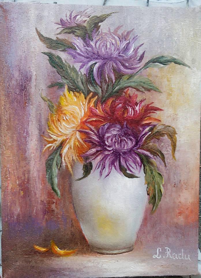 Picturi cu flori flri de toamna