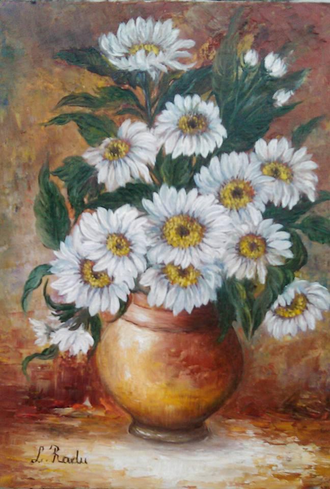 Picturi cu flori frumoase margrete