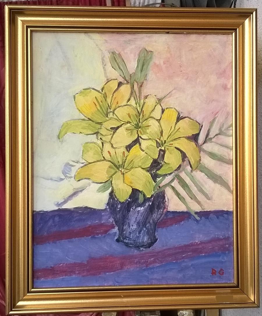 Picturi cu flori G197-   IMPERIALI