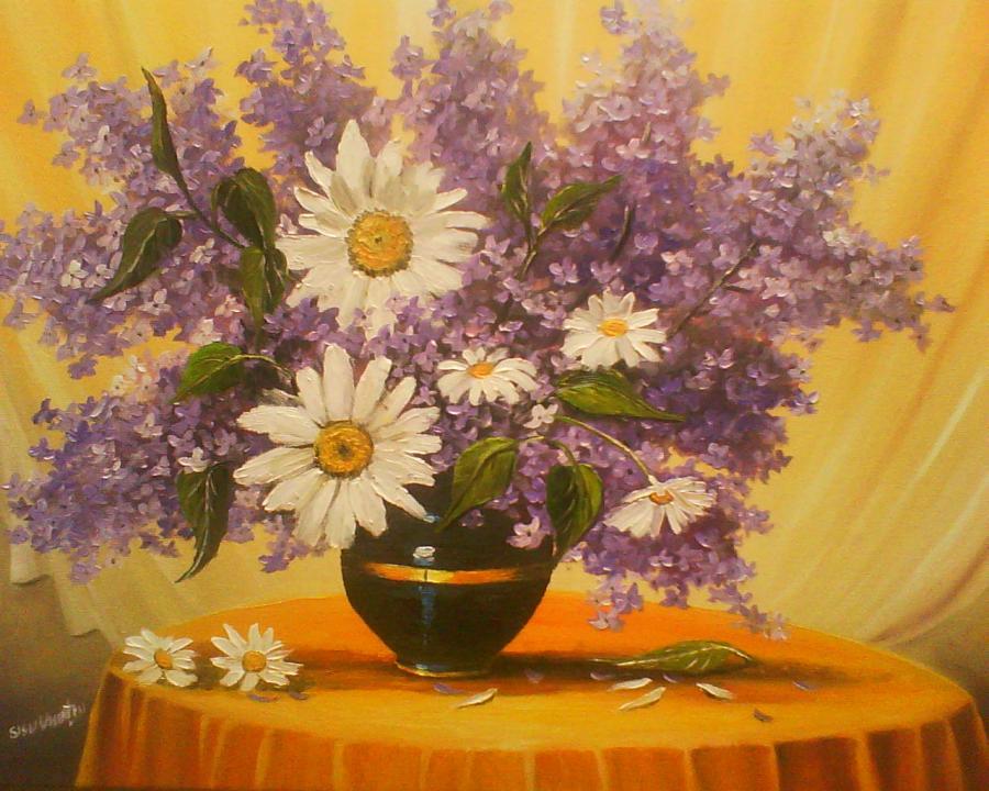 Picturi cu flori decor .2