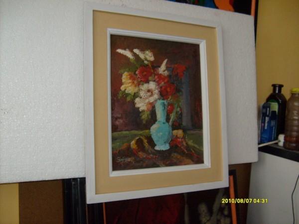 Picturi cu flori Vaza cu flori 21