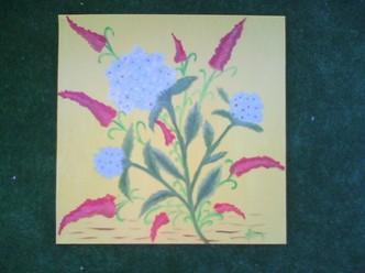 Picturi cu flori Hortensie