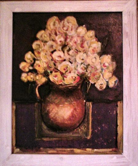 Picturi cu flori Trandafirii galbeni