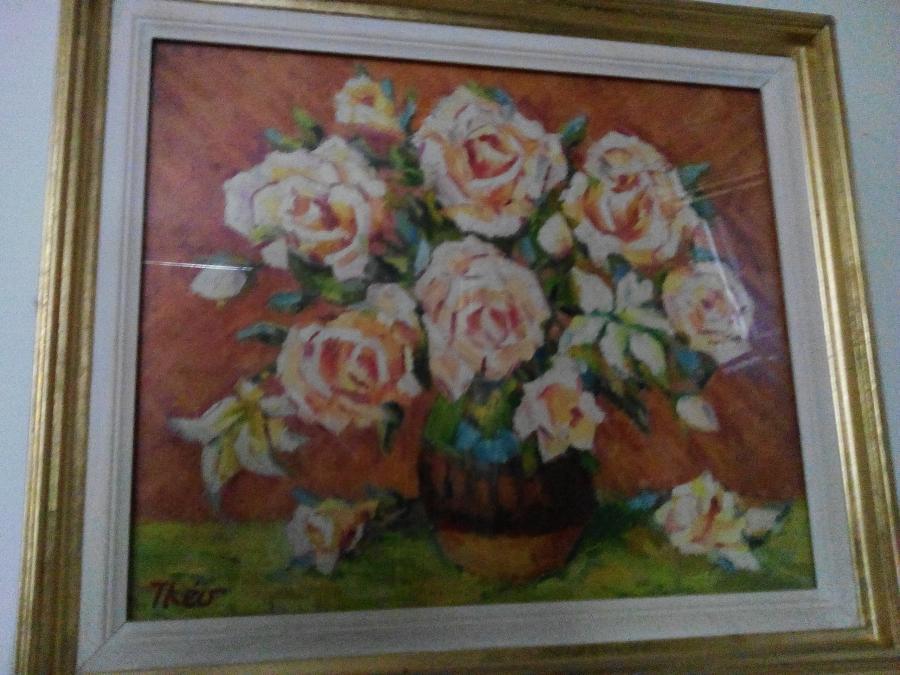 Picturi cu flori flori V ,anii 80