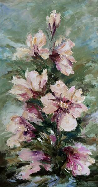 Picturi cu flori Magnolii
