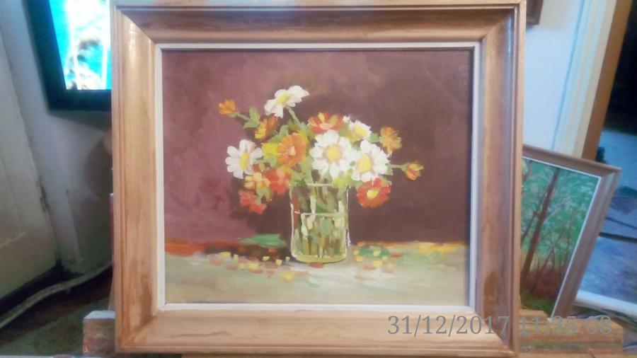 Picturi cu flori flori de gradina 1