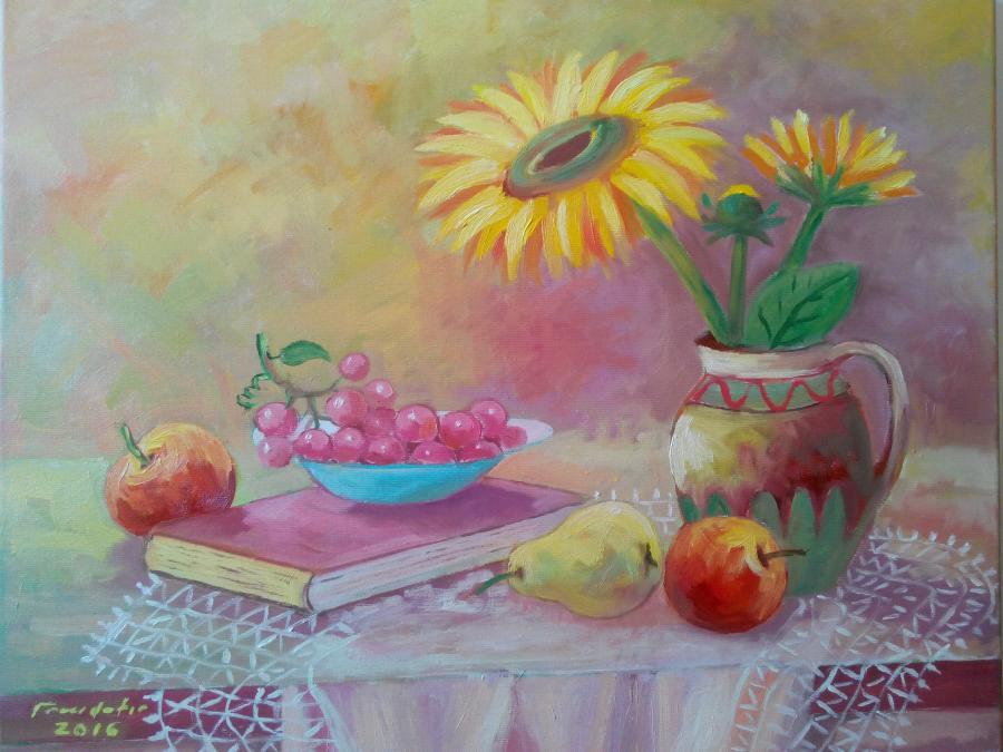 Picturi cu flori Lenuta 1