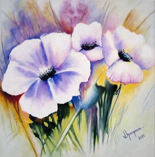 Picturi cu flori Flori in buchet