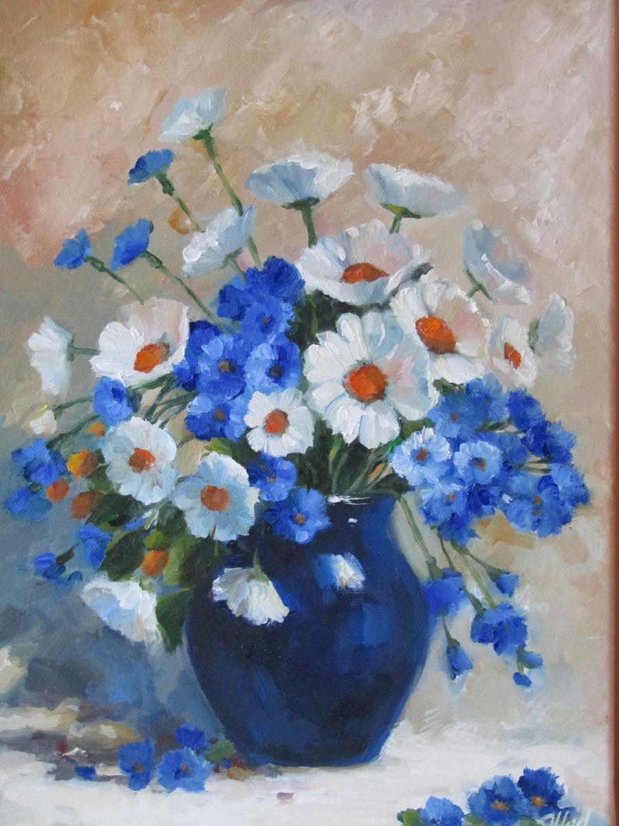 Picturi cu flori BUCHET DE VARA..