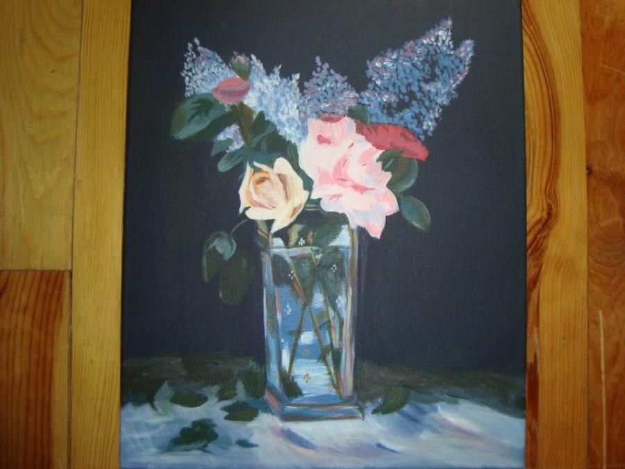 Picturi cu flori Florile lui Manet