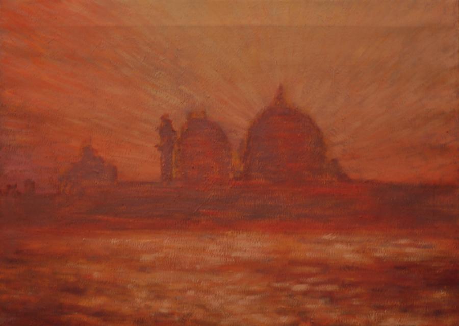 Picturi cu peisaje peisaj din venetia