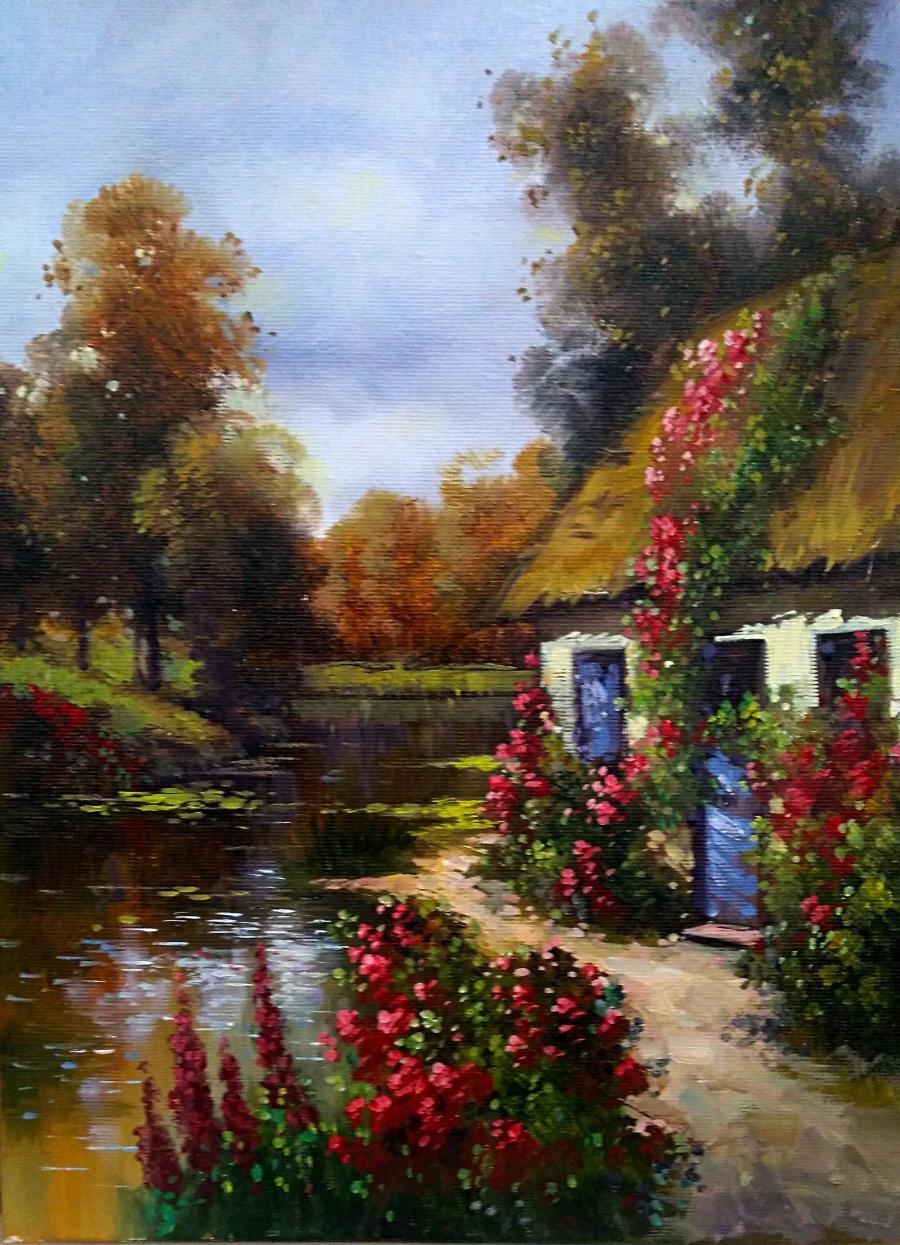 Picturi cu peisaje refugiu 2