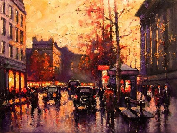 Picturi cu peisaje Pariziana 7